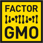 The Factor GMO logo